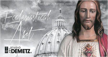 111291478a2861 Pad. 33 - Stand D7-E6. DEMETZ ART STUDIO. Community furnishing, Cribs and  components, Liturgical furnishing, Mosaics, Religious articles, Sacred ...