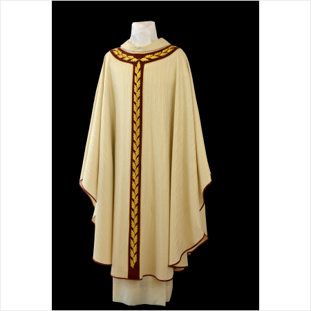 chasuble with image devotio