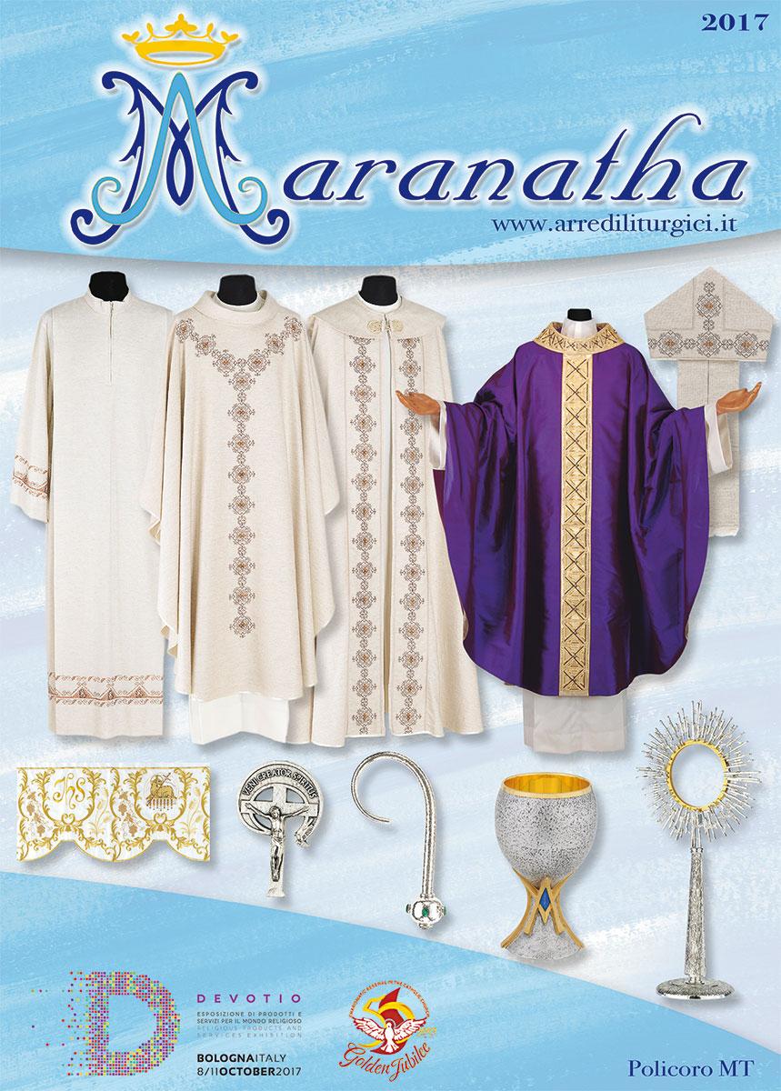 Maranatha Arredi Sacri.Maranatha Arredi Sacri 1059 C Casula Con Ricamo Diretto In
